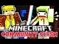 KING BATTLE - Minecraft Community Clash VS KranCrafter