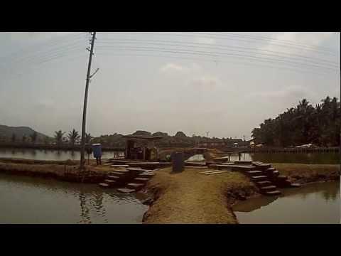 Aqua culture farm divar island