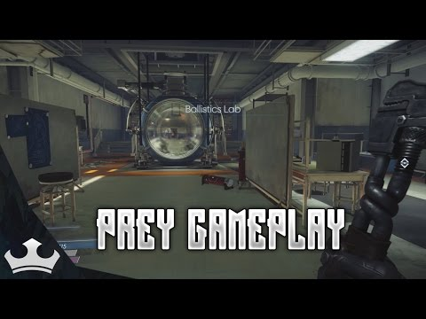 Prey Gameplay Ep 7 - Ballistics Lab
