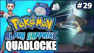 Pokémon AlphaSapphire Randomizer Quadlocke Part 29 | LUCARI-OH NO! by Ace Trainer Liam
