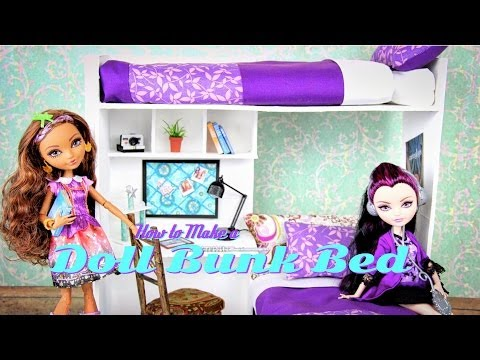 Как сделать дом для кукол эвер афтер хай видео своими руками