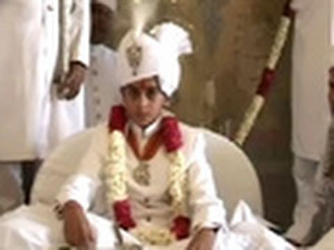 12 year old crowned King of Jaipur