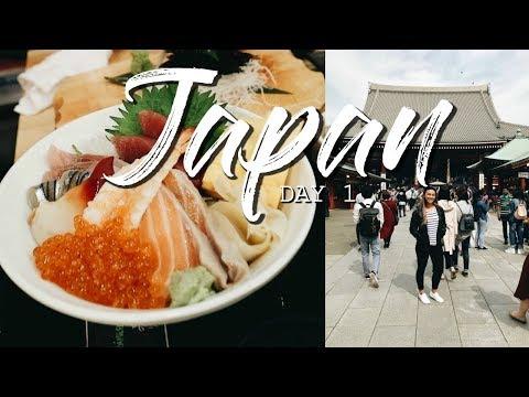 JAPAN VLOG - DAY 1 // SHIBUYA, ASAKUSA, UENO, HARAJUKU