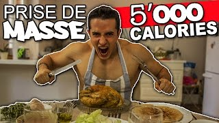 Video DEFI REPAS PRISE DE MASSE ! (5000 calories) MP3, 3GP, MP4, WEBM, AVI, FLV Agustus 2017