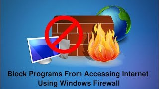 """Windows Firewall is a software component of Microsoft Windows that provides firewalling and packet filtering functions. Steps to Block the Application/Software from accessing the Internet using Windows Firewall - 1. Open ControlPanel -- Windows Firewall -- Advanced Settings.2. Click on Advanced Settings available at left side.3. Click on Outbound rules available at left menu.4. Now we need to create a rule through which we can block the application or a program.5. Click On """"New Rule"""" from the right menu.6. This will opens the wizard -   a. Select Program as rule type.  b. Select the program's EXE file.   c. Choose Block the connection.7. Choose where you want to apply the rule.8. Name the rule.9. Done. You can check the rule.Please like and share video.Feel free to comment if you have any problem.Visit our Website - http://thehackerstuff.com/Like us on facebook -https://facebook.com/thehackerstuff Uploaded By - TheHackerStuff"""