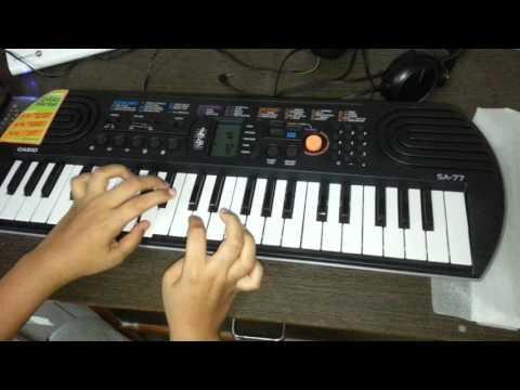 Half popat pisatla song on piano