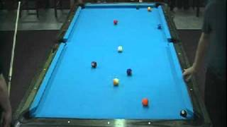 Brandon Shuff Vs Greg Ferguson At The 2010 VA State 9-Ball Championship
