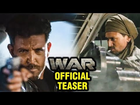 WAR Official TEASER Out | Hrithik Roshan, Tiger Shroff, Vaani Kapoor | YRF