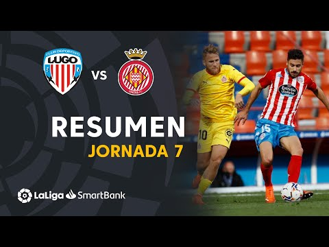 Resumen de CD Lugo vs Girona FC (3-0)