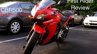 8. CBR500R review from new rider.