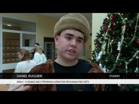 TV Brno 1: 28.11.2017 V nemocnici připravili vánoční program pro děti