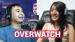 Video NGAJARIN PACAR MAIN OVERWATCH MP3, 3GP, MP4, WEBM, AVI, FLV Februari 2018