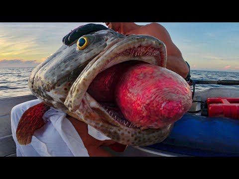Catching Weird Deep Sea Fish