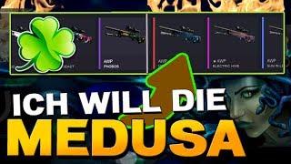 Lucky-Cases CS:GO Case Opening - Ich will die AWP Medusa [German/Deutsch]