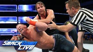 Dean Ambrose vs. John Cena: SmackDown LIVE, Sept. 20, 2016