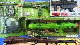 Video Guns Toys for Kids !!! Bazooka ,Shotgun,Machine gun &Military equipment- VIDEO FOR KIDS MP3, 3GP, MP4, WEBM, AVI, FLV Desember 2018