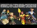 3D Printing Your Own HeroForge Minis: Is It Worth It? (HeroForge STL File Review)