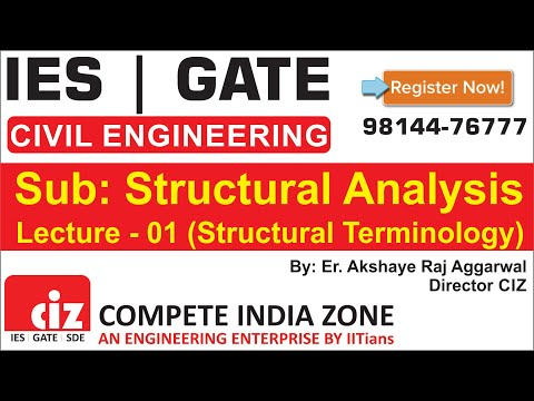 Structural Analysis | Basic Terminology | Compete India Zone Director Akshaye Raj Aggarwal