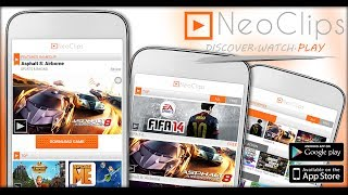 NeoClips:FREE Games & Trailers YouTube video