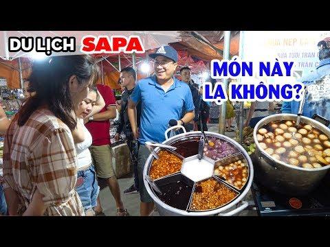 DU LỊCH SAPA - Khám phá Ẩm thực Chợ Đêm Sapa với nhiều món ăn ngon