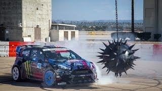 NEED FOR SPEED: KEN BLOCK'S GYMKHANA SIX -- ULTIMATE GYMKHANA GRID COURSE - YouTube