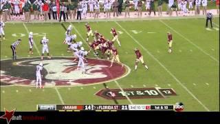 Bryan Stork vs Miami (2013)