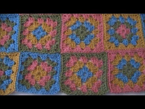 Crochet Together Granny Squares