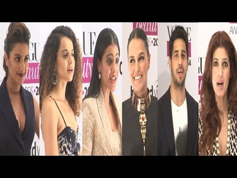 Kangana, Parineeti, Kajol & Others At Vogue Beauty Awards 2014