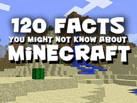 120 Facts You Might Not Know About Minecraft
