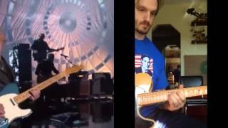 Nick Jonas and Kelsea Ballerini ACM Awards 2016 John Huldt Guitar solo cover + TAB