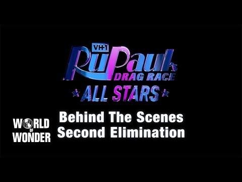 """RuPaul's Drag Race All Stars 4: """"Second Elimination"""" BEHIND THE SCENES"""