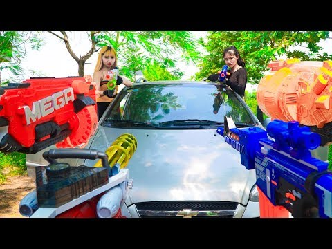 XGirl Nerf War: Wolf Warriors Girl Nerf Gun The Rescue Countdown