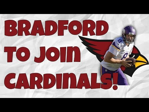 Sam Bradford to Sign with Cardinals! Will Arizona Draft a QB?