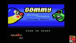 Gommy Medieval Defender (MSX Emulated) by ILLSeaBass