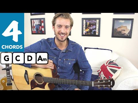 Play 10 guitar songs with 3 EASY chords | Knockin' on heavens door | Bob Dylan