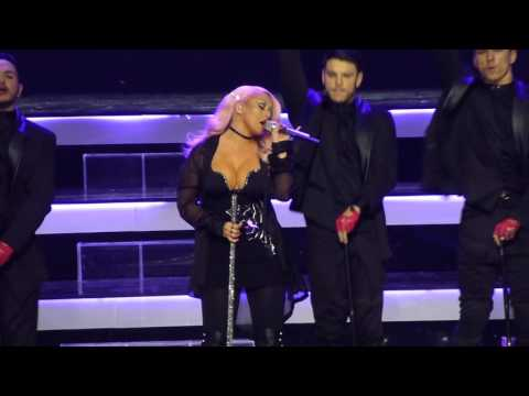 Christina Aguilera - Ain't No Other Man (07.12.2016, Kremlin Palace, Moscow, Russia)