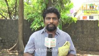 Shanmugaraja at  Sagaptham Movie Press Show