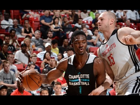 houston - Check out all of the best highlights as the Charlotte Hornets take on the Houston Rockets at the 2014 Las Vegas Summer League. About the NBA: The NBA is the premier professional basketball...