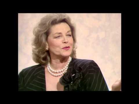 Lauren Bacall June 1986