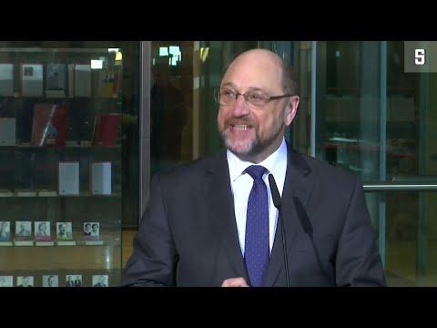 Martin Schulz (SPD) zu seinem Rücktritt: