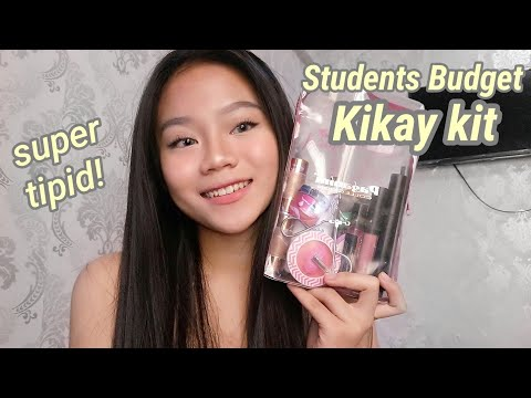 Students Budget Everyday Kikay Kit! TIPID na TIPID 💯 (Murang Makeups pero PAK) (видео)
