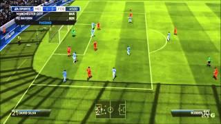 FIFA 14 - Manchester City FC Vs FC Bayern Munich Gameplay [HD]