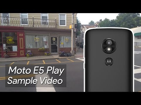 Moto E5 Play Sample Video