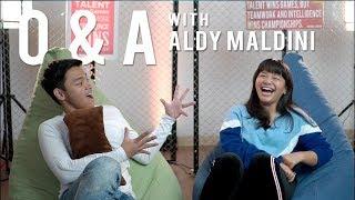 Video Q n A with Aldy Maldini | Amel Carla MP3, 3GP, MP4, WEBM, AVI, FLV November 2018