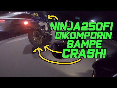 Ngomporin Ninja250FI Sampe Crash Monasco! - CBR250R vs Ninja250FI vs KTM RC390