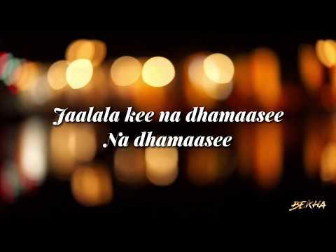 HACAALUU HUNDEESSAA -  BADA MAKOO TIYYA HOO - Lyrics