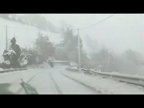 Schnee auf Mallorca - verfrühter Wintereinbruch