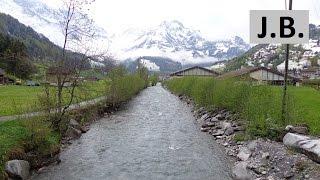 Engelberg Switzerland  city photo : Walking in spring Engelberg, SWITZERLAND