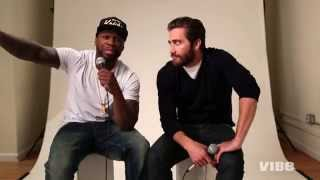 Behind-the-Scenes: 50 Cent & Jake Gyllenhaal' Southpaw' Digital Cover Shoot