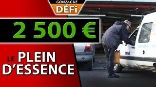 Video defi vendre un plein d'essence a 2500 euros MP3, 3GP, MP4, WEBM, AVI, FLV Oktober 2017